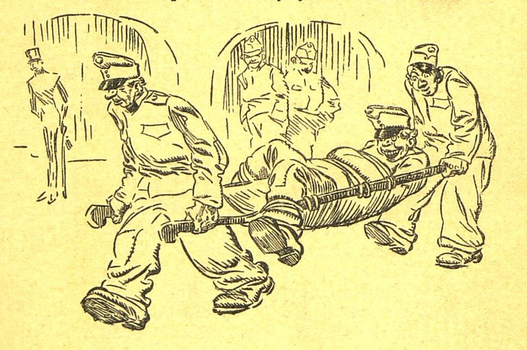 An illustration from Švejk's tour of duty | © Karel Stroff/WikimediaCommons