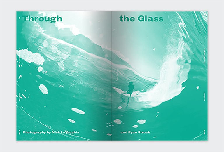 Through the Glass| Image Courtesy of WAX Magazine