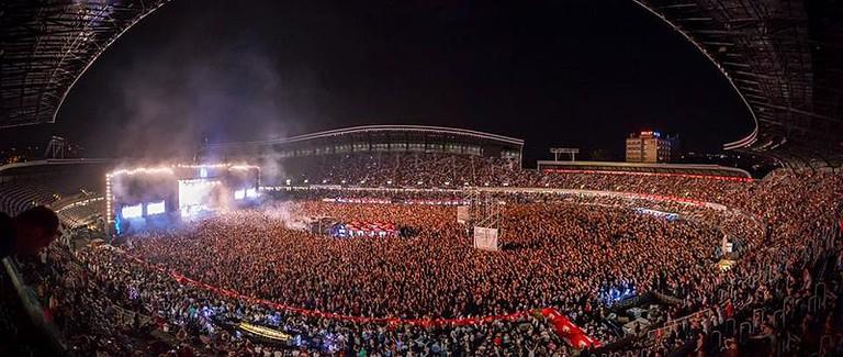 Untold Festival Main Stage|©Travelcristi|WikiCommons