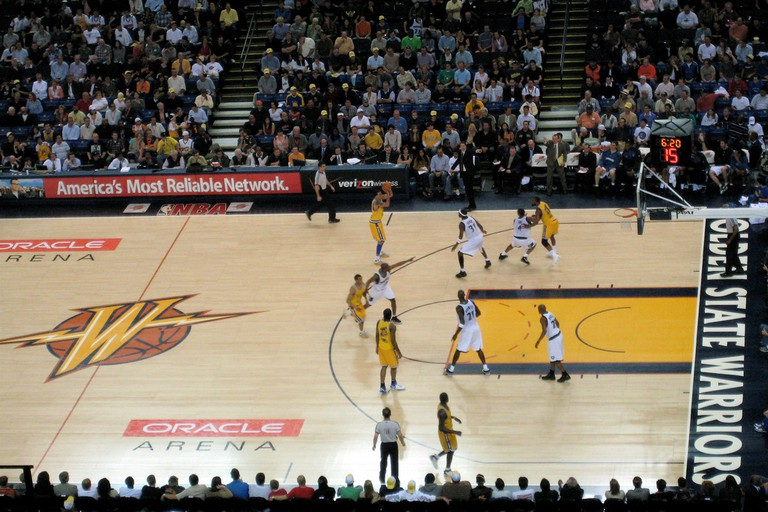 Warriors at Oracle Arena © Bryce Edwards/Flickr