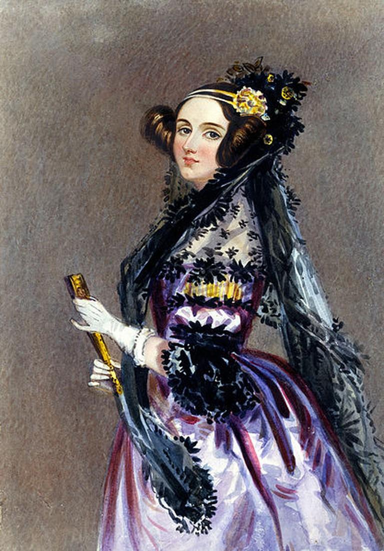 Alfred Edward Chalon. Ada Lovelace. 1830 |©SirHenryNorris / WikiCommons