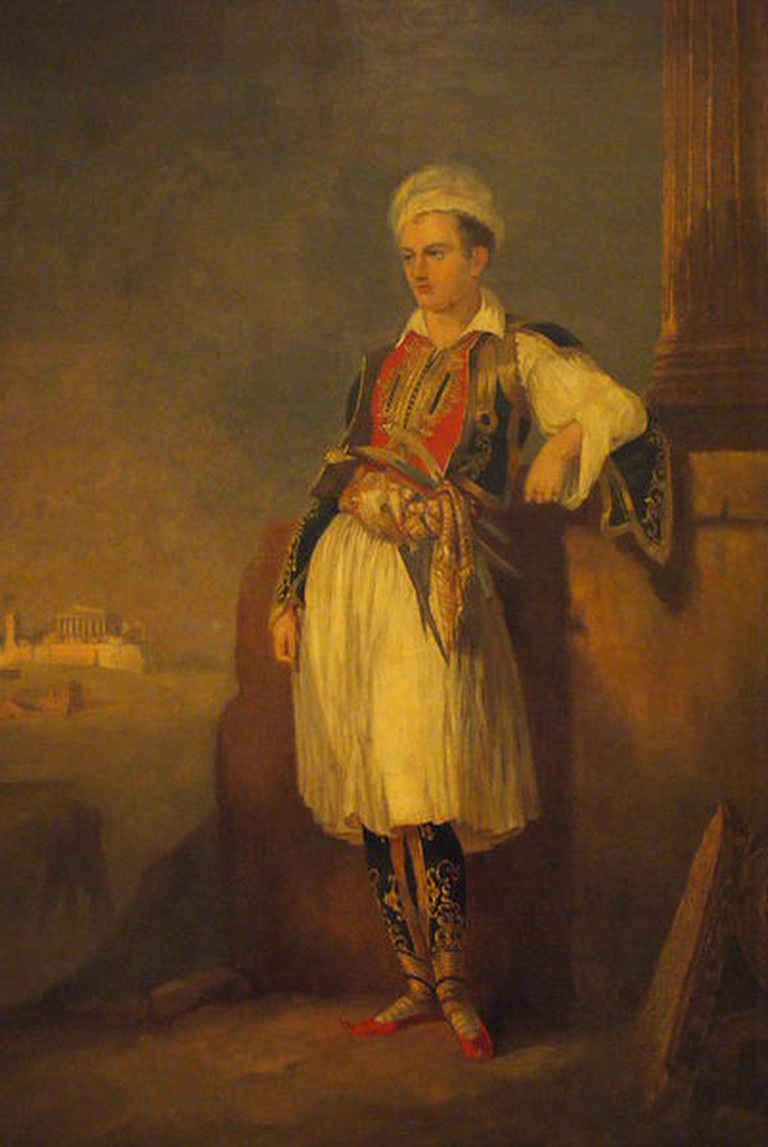 Anonymous Artist. Byron in Greek Costume. C.1830 |©Amadscientist / WikiCommons