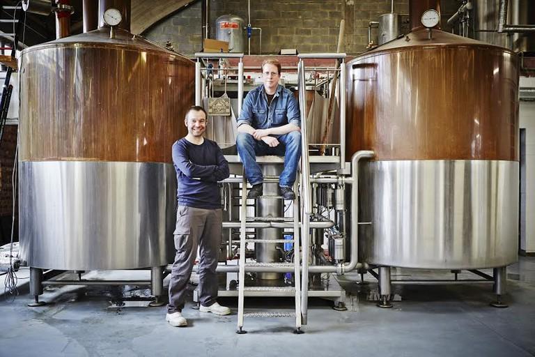 Yves De Baets and Bernard Leboucq | © Alexandre Bibaut