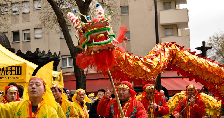 Chinese New Year Parade |© Thomas sauzedde/Flickr