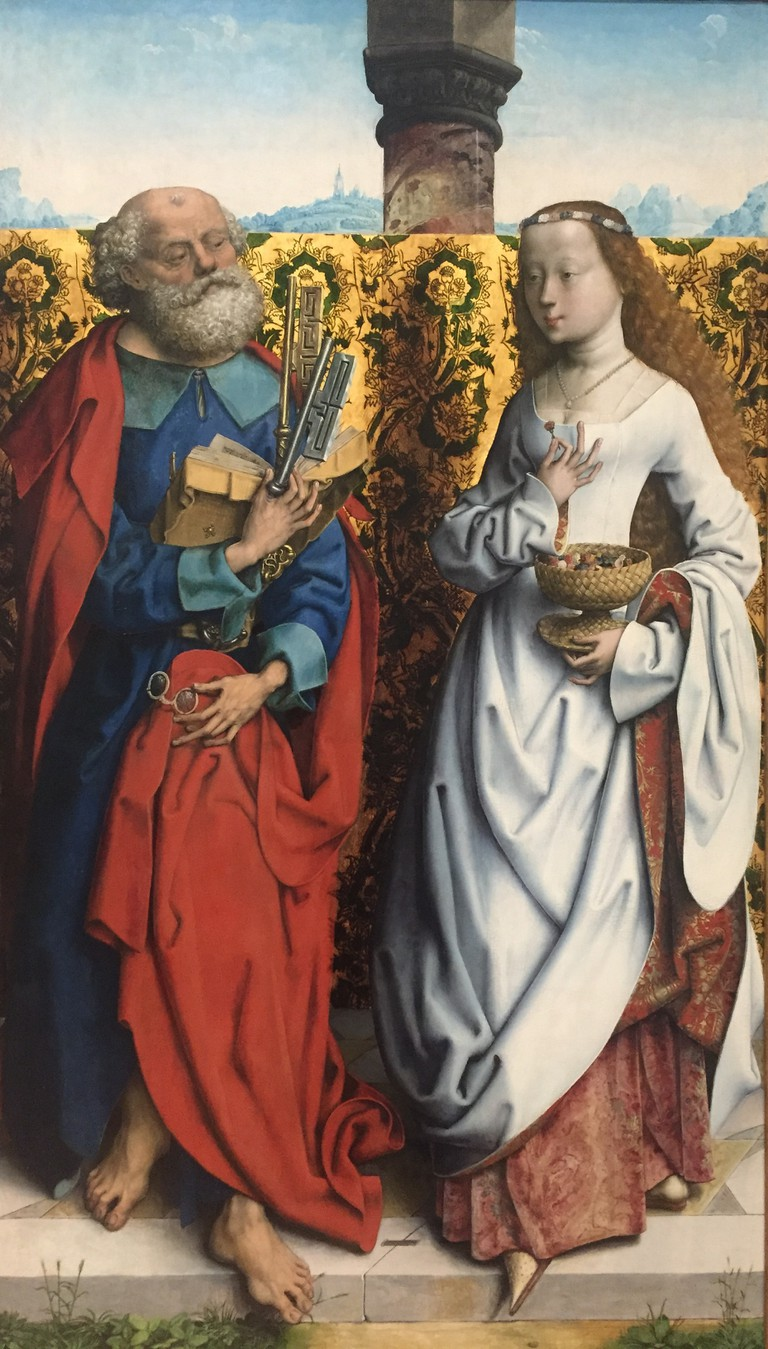 Saints Peter and Dorothy © Anne Rybka