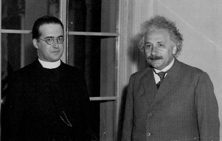 Georges Lemaître with Albert Einstein | © thirdwise/Flickr.com