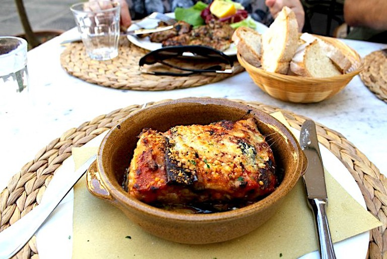 Lasagna in Florence
