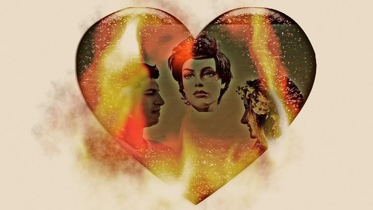Jealousy - love triangle | © geralt/Pixabay