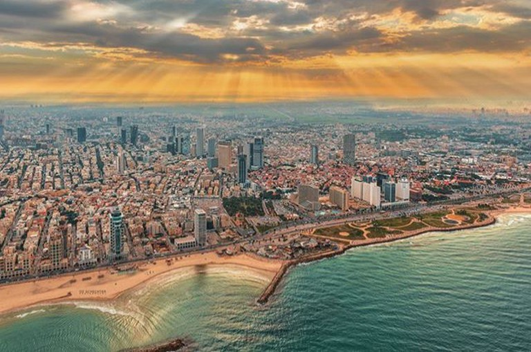 View of Tel Aviv Courtesy of Oz Schechter