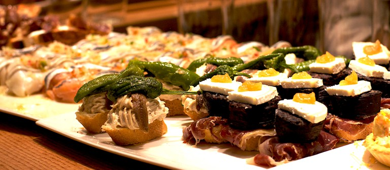 Traditional pintxos in San Sebastian | © Katina Rogers/Flickr