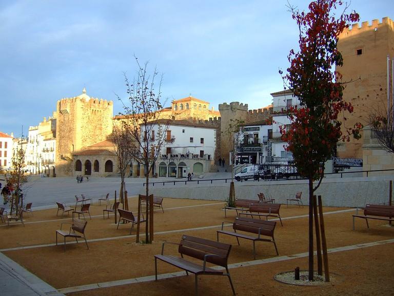 Plaza Mayor, Cáceres © Ramallo/Pixabay