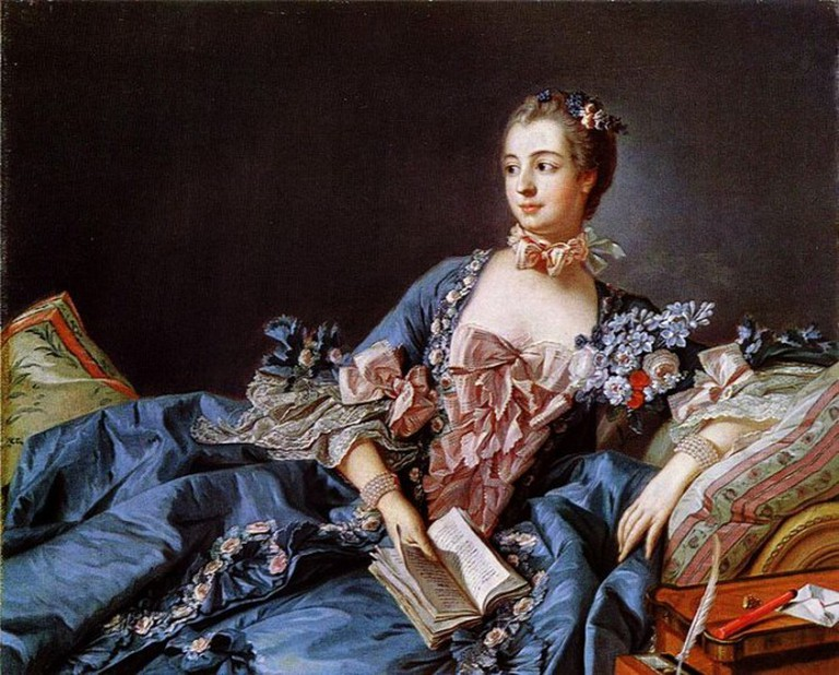 Francois Boucher, Madame de Pompadour, c.1750 | © The Yorck Project/WikiCommons