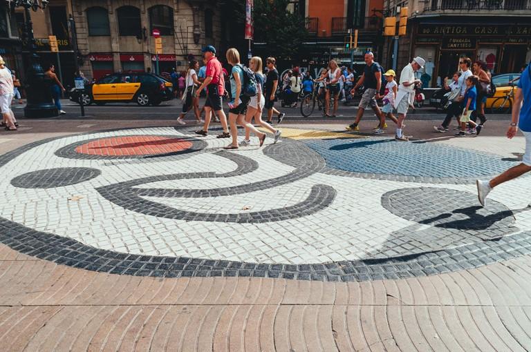 A mural by Joan Miró | Michael & Tara Castillo / © Culture Trip
