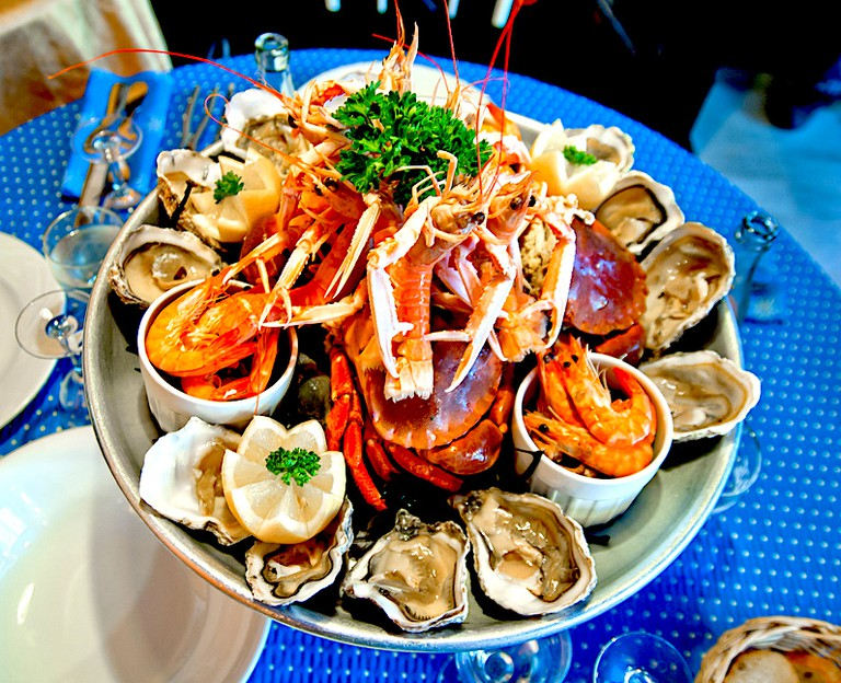 Seafood platter | © Archangel12/Flickr