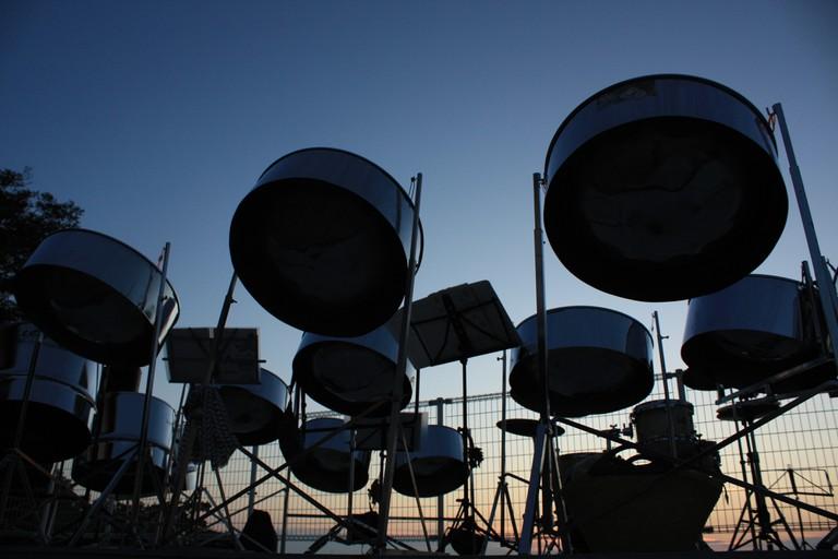 Steel Pan Drums | © yuko.S/Flickr