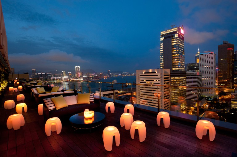 sevva rooftop bar