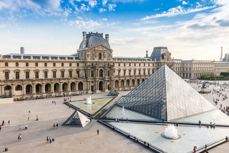 The Louvre Museum is one of the world's largest museums and the most popular tourist destinations in France
