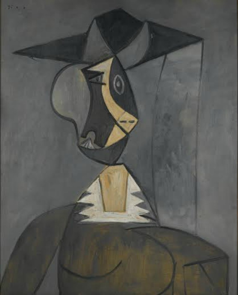 Woman in Gray, 1942 © artist or artist's estate| Courtesy of the Brooklyn Museum