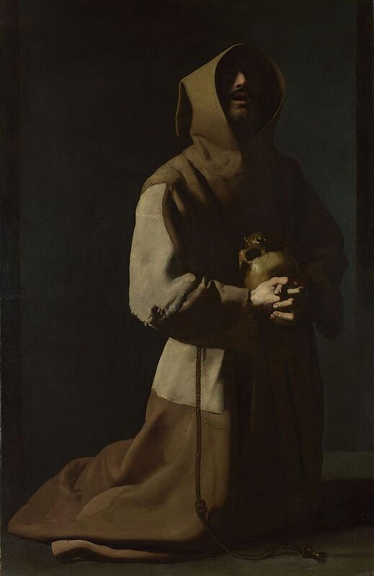 St Francis in Meditation © Aavindraa/WikiCommons