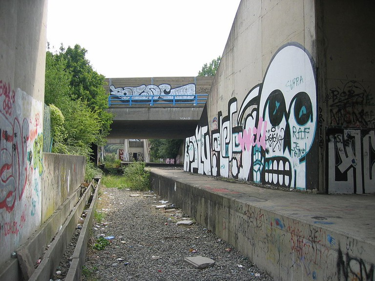 Unfinished section of the Charleroi Metro | © IIVQ/WikiCommons