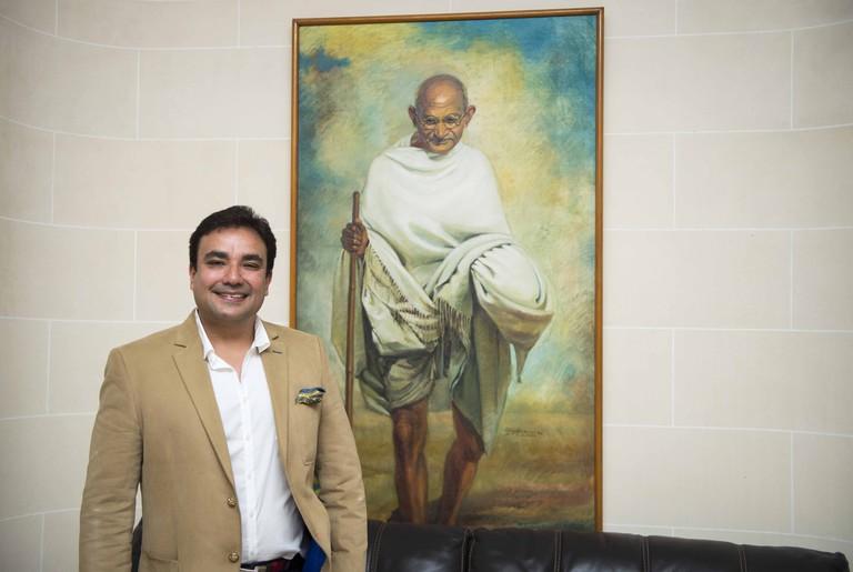 LCB á l'Ambassade de l'Inde 01.10.2014 | Courtesy of Moti Mahal