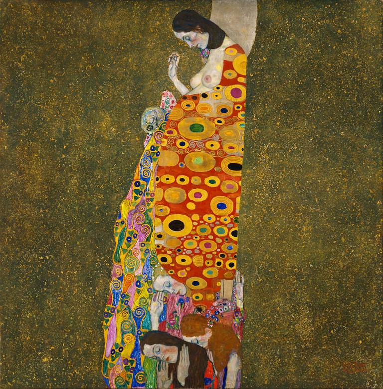 Gustav Klimt, Hope, II, 1907-1908 | © Museum of Modern Art/WikiCommons