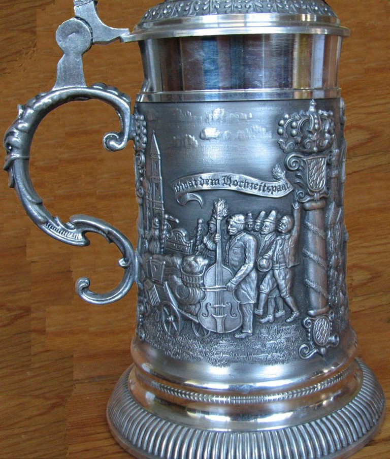 German Beer Mug/Wiki Commons