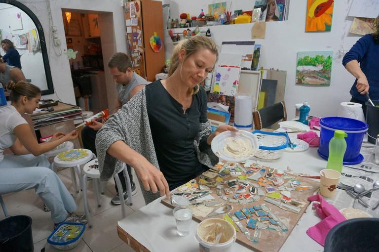 Art in Action Courtesy of Tel Aviv Art Studio