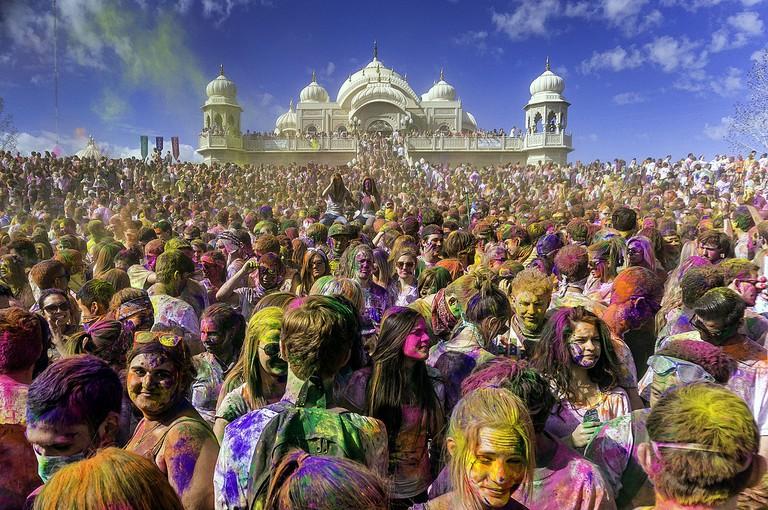 A Holi celebration in Utah | © Steven Gerner/WikimediaCommons