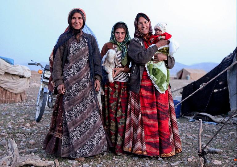 Nomadic Qashqai women | © ninara/WikimediaCommons