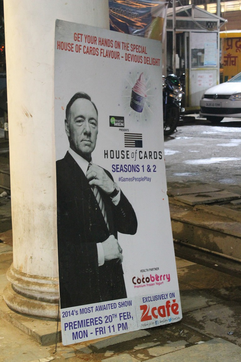 Frank Underwood's taking over Delhi too. | © Connie Ma/Flickr