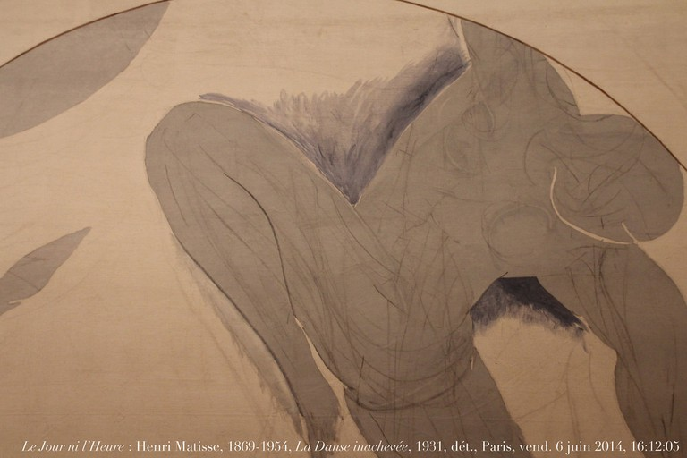 Detail of La Danse inachevée by Henri Matisse, 1931