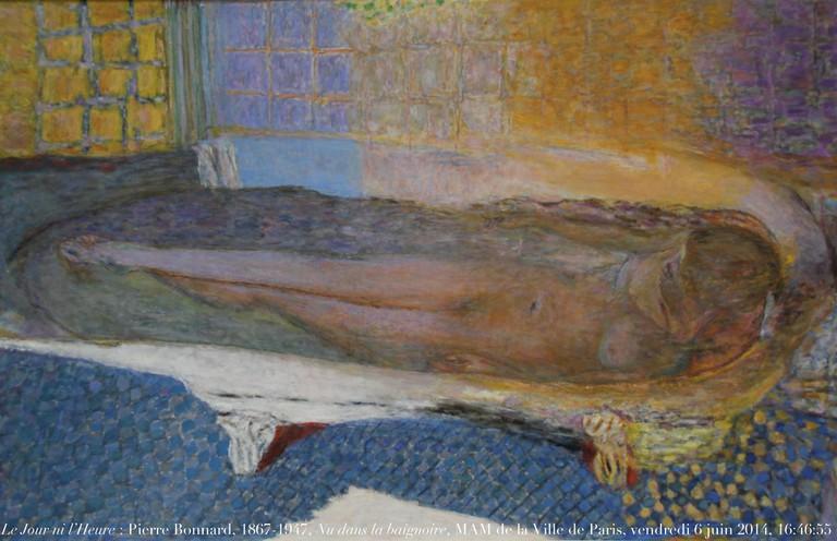 Nu dans le bain by Pierre Bonnard, 1936-1938