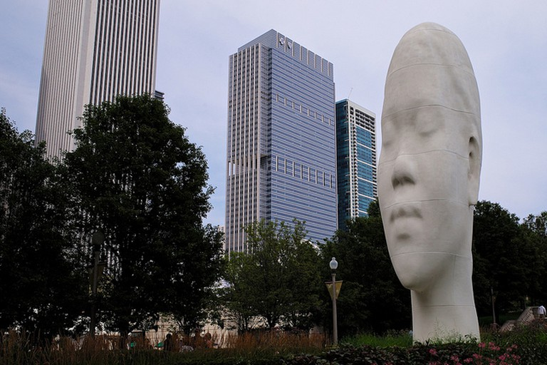 Looking Into My Dreams Awilda by Jaume Plensa | © Roman Boed/Wikicommons