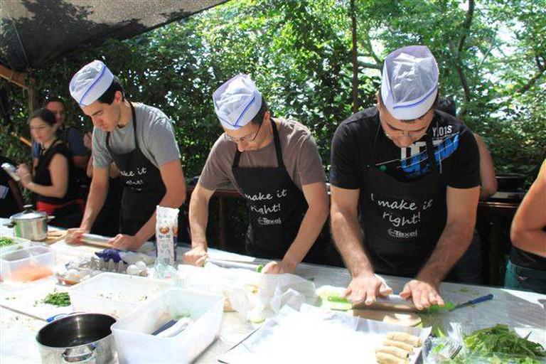 Asian Food Workshops By Noam Koren