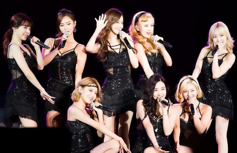 Girls' Generation at MBC Radio DJ Concert