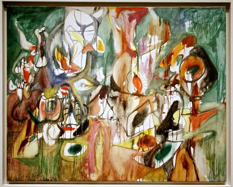 One Year the Milkweed, 1944, oil on canvas – Arshile Gorky | © Cliff/Flickr