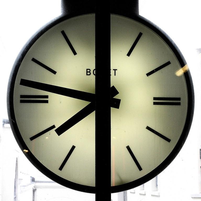 Clock | © Jean-François Gornet/Flickr