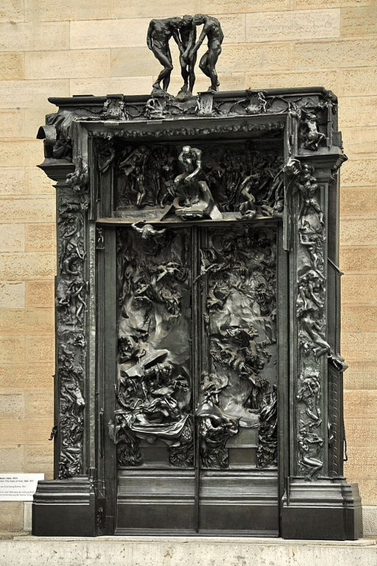 Auguste Rodin, The Gates of Hell, | © Roland zh/WikiCommons