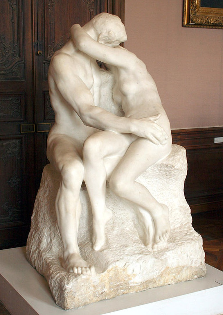 Auguste Rodin, The Kiss, | © Szilas/WikiCommons