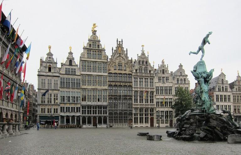 Brabo fountain in Antwerp © Alan Stanton/Flickr