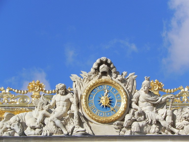 Clock, Palace of Versailles | © Kristine Riskær/Flickr