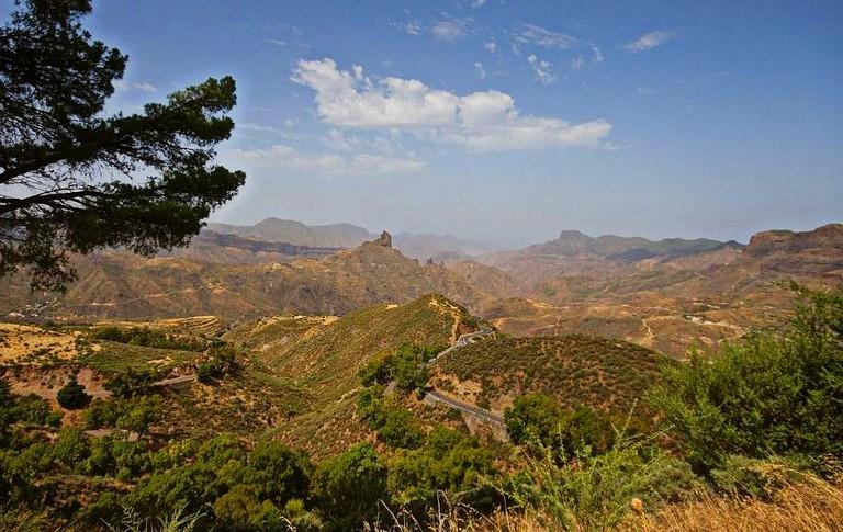El Parador de Cruz de Tejeda y sus alrededores en Gran Canaria - Islas Canarias | © El Coleccionista de Instantes / Flickr