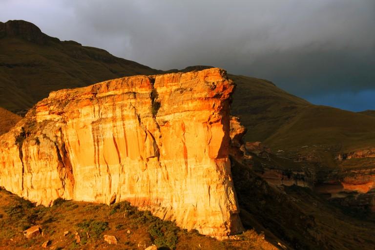 The Brandwag Rock near Clarens   © Martie Swart/Flickr