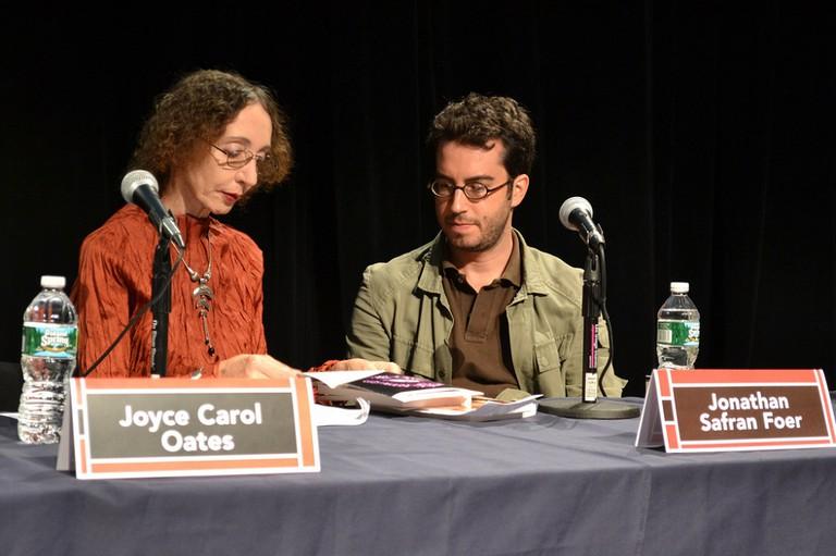 Joyce Carol Oates, Jonathan Safran Foer | © editrrix/Flickr