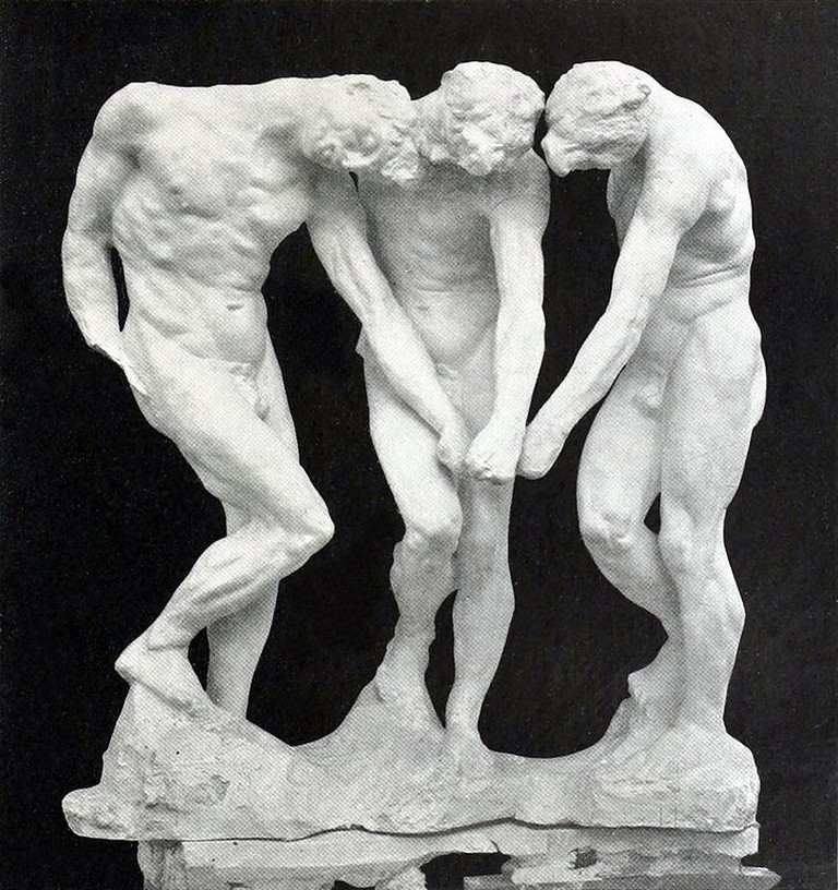 Auguste Rodin, The Three Shades, 1886 | © Auguste Rodin/WikiCommons