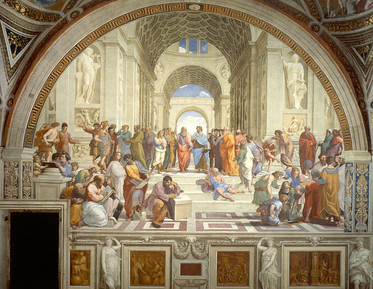 The School of Athens fresco by Raphael, 1511 | ©Wikimedia Commons