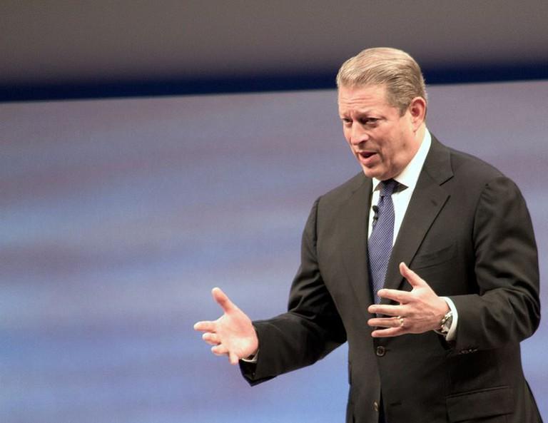 Al Gore, director of An Inconvenient Truth