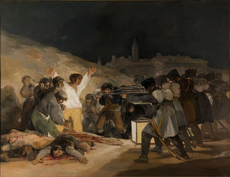 Tres de Mayo by Francisco de Goya