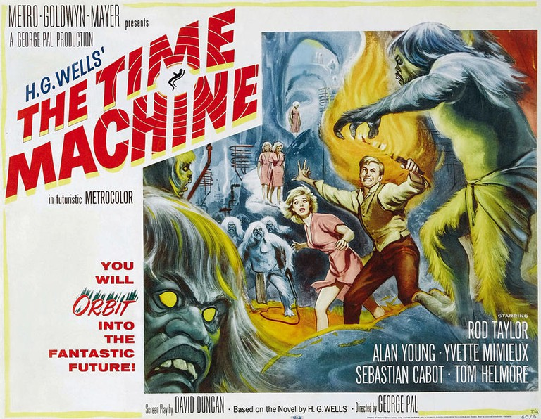 Poster for the film The Time Machine (1960 film)|© Reynold Brown/Wikicommons